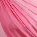 rozowy szal wieczorowy cieniowany z wełny