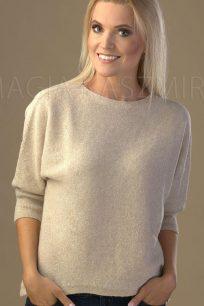 sweter damski w kolorze bezowym