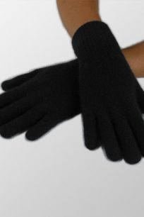 eekawiczki damskie welniane czarne
