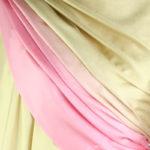 szal jedwabny gladki rozowy