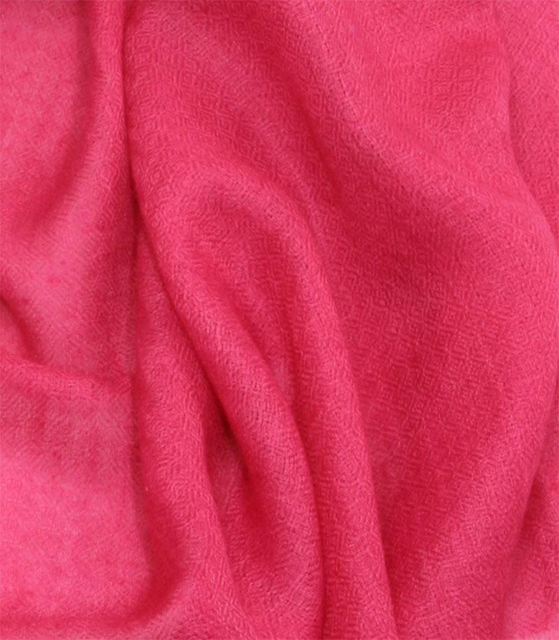 szal kaszmirowy w kolorze francuskiego fioletu