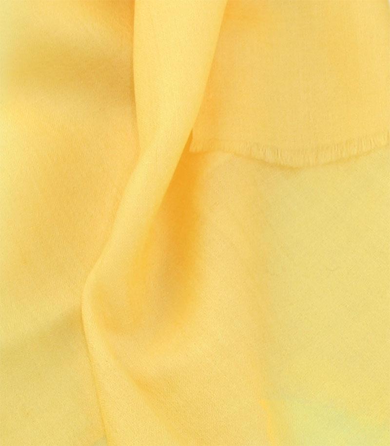 szal kaszmirowy w kolorze mango