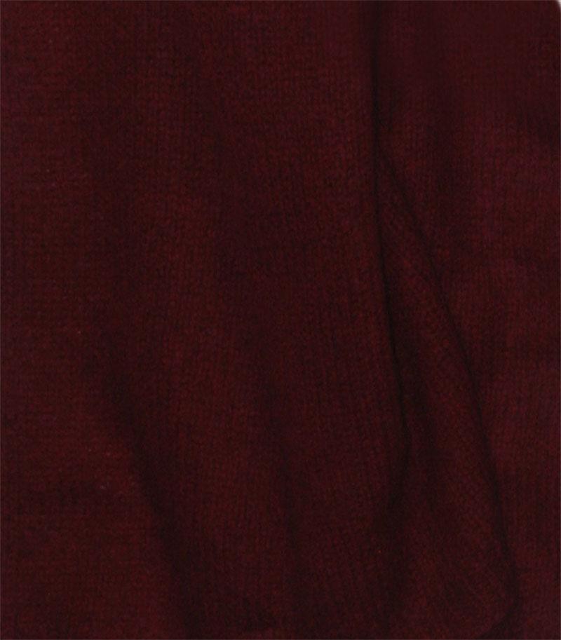 szal kaszmirowy w kolorze bordowym