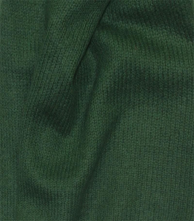 szal kaszmirowy w kolorze zielonym
