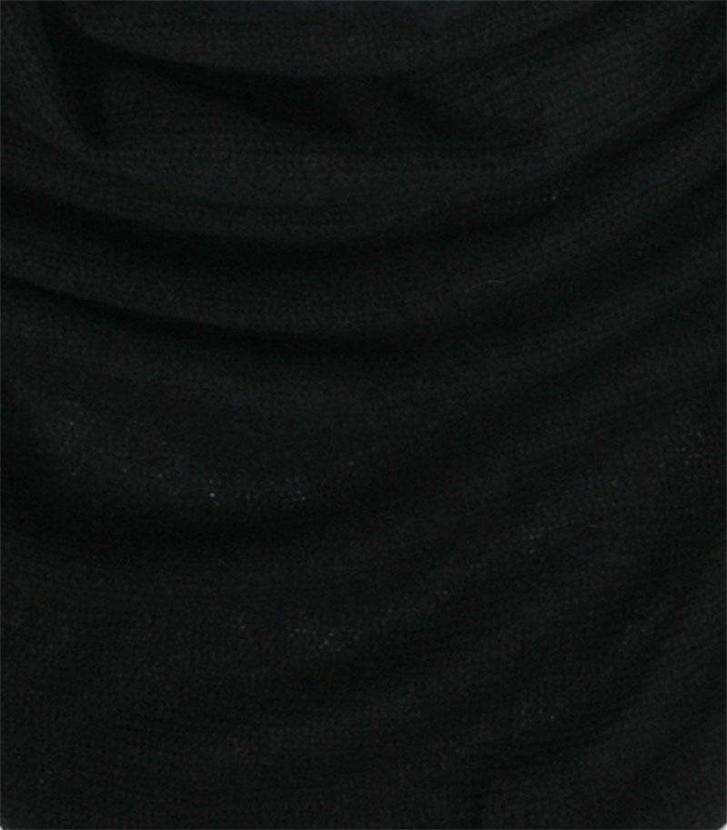 chusta kaszmirowa w kolorze czarnym