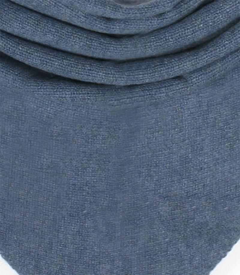 chusta kaszmirowa w kolorze denim blue