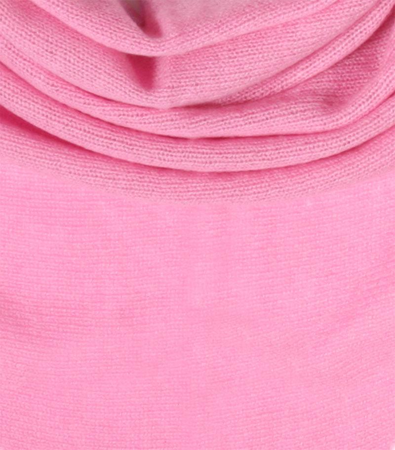 chusta kaszmirowa w kolorze rozowym