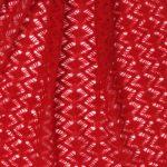 szal kaszmirowy w kolorze czerwonym