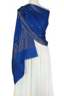 szal-welniany-niebieski-jamawar-wzor